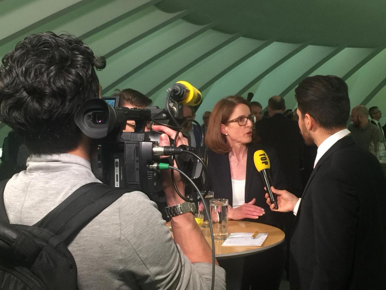 Susanne Vincenz-Stauffacher tritt zum zweiten Wahlgang an