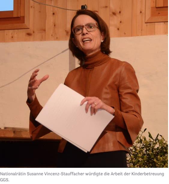 Vereinbarkeit auch nach 20 Jahren als oberstes Ziel der Kinderbetreuung Grabs-Gams-Sennwald