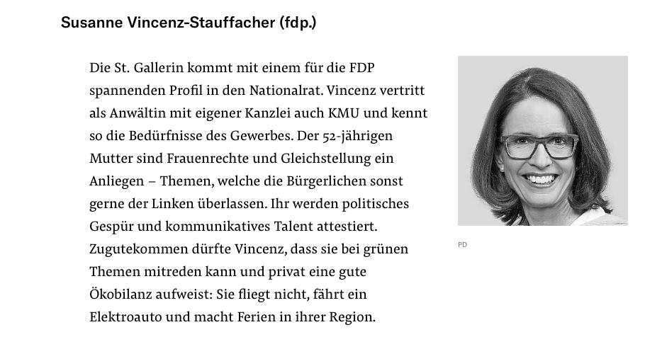 Susanne Vincenz-Stauffacher in der NZZ vom 3.12.2019