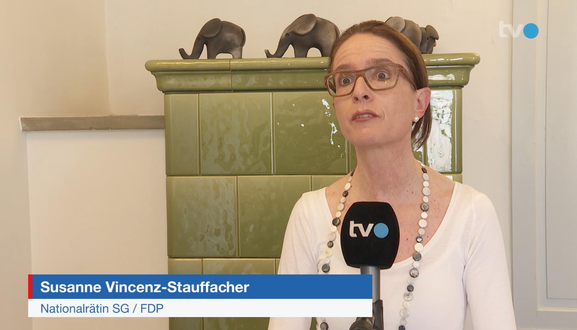 Susanne Vincenz-Stauffacher im TVO vom 9. April 2020