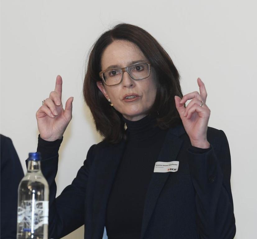 """""""Es drohen Handelskriege mit der EU"""" – Susanne Vincenz-Stauffacher auf dem BKW-Podium am 21. September 2021"""
